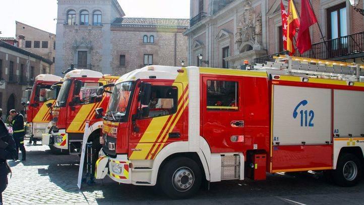 Camiones de Bomberos de Madrid