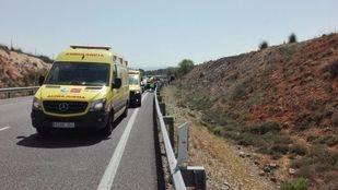Siete coches han colisionado en la A3 a la altura de Villarejo de Salvanés
