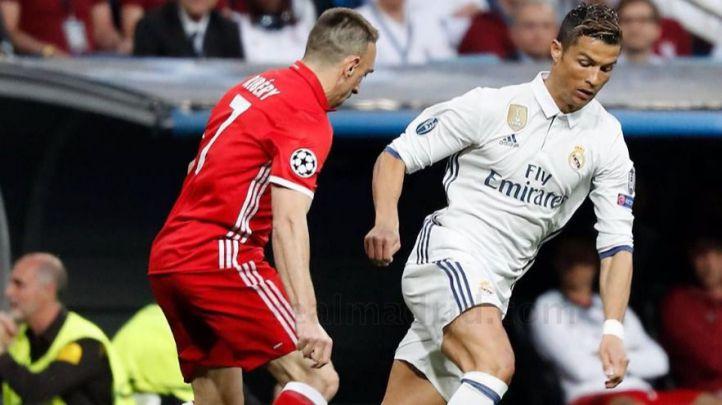 Real Madrid- Bayern Múnich . (Archivo)