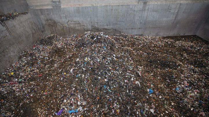 Planta de reciclaje de residuos en Valdemingómez