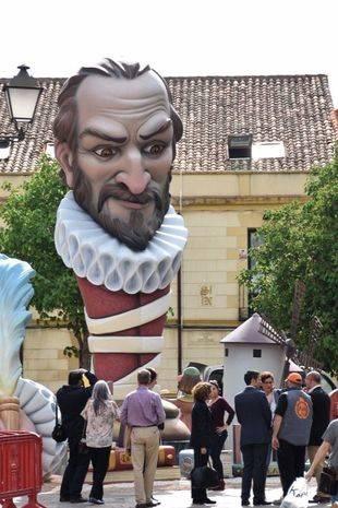La Falla Cervantina protagonista del IV Centenario de la Muerte de Miguel de Cervantes