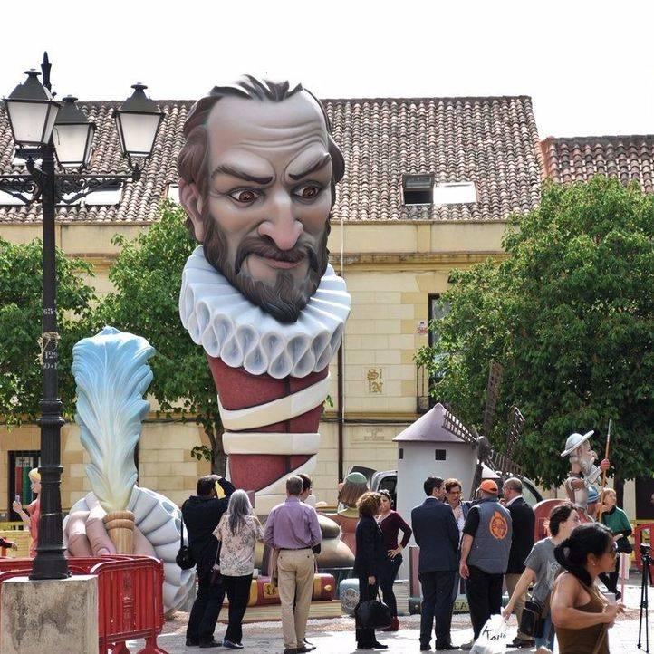 Cervantes 'arderá' para poner fin a la conmemoración de su IV Centenario