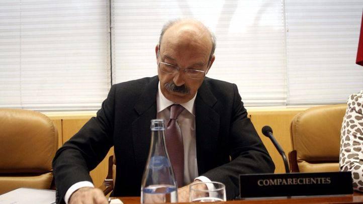 Comparecencia de Adrián Martín, director general de Canal de Isabel II Gestión, en la Comisión de estudio de la deuda de la Asamblea de Madrid. (Archivo)