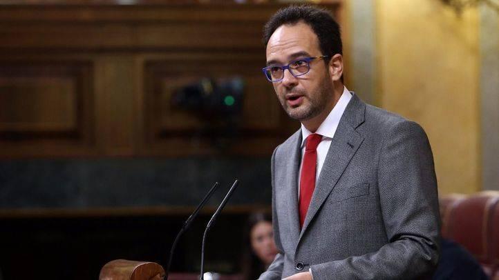 Antonio Hernando, portavoz del Grupo Socialista en el Congreso