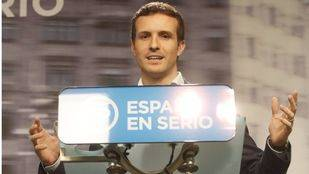 Pablo Casado, vicesecretario de Comunicación del Partido Popular