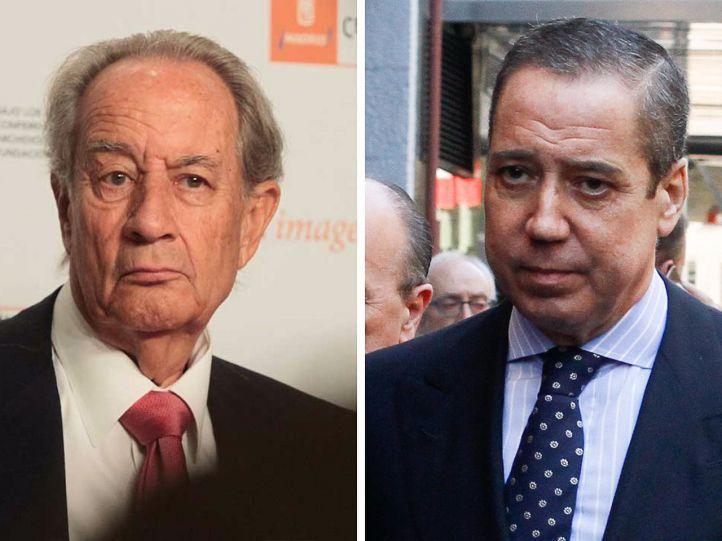 La Audiencia investiga también a Villar Mir y a Zaplana