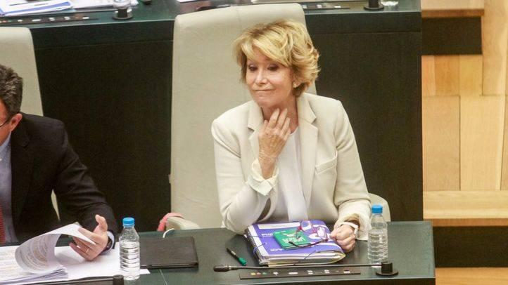 Ahora Madrid y PSOE pedirán en el Pleno la dimisión de Aguirre