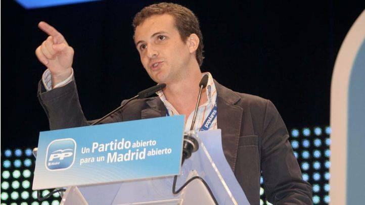 Pablo Casado, vicesecretario de comunicación del PP.