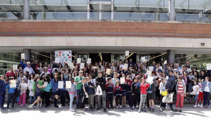Madrid reconoce la labor ambiental de 53 colegios