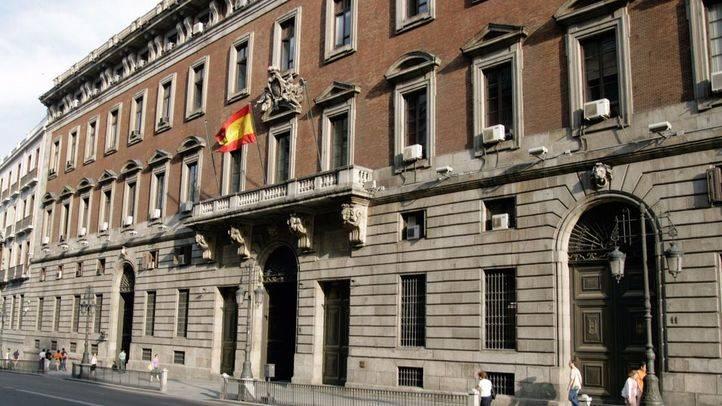 Ministerio de Hacienda, en una foto de archivo.