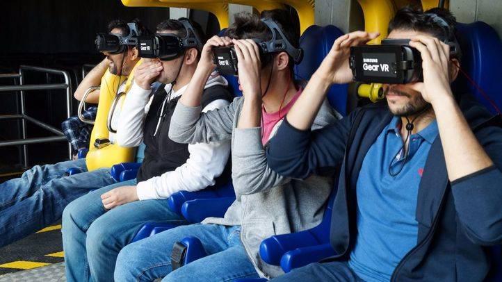 Así es la primera montaña rusa con realidad virtual de España