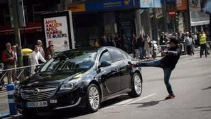 El sector del taxi toma de nuevo la calle