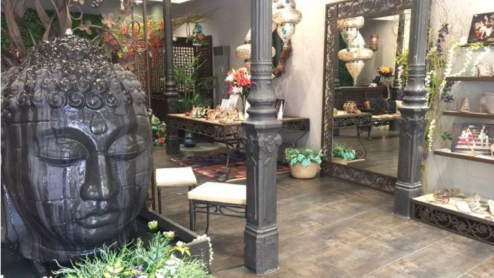 Primera flagship store de Alma en Pena en la calle de Augusto Figueroa.