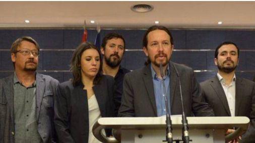 Podemos presenta una moción de censura contra Rajoy que rechazan PSOE y C's
