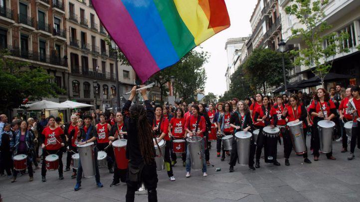 Las mujeres defienden su derecho a amar con libertad en el Día de la Visibilidad Lésbica