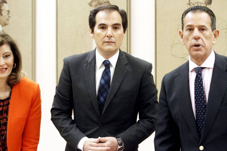 El secretario de Estado de Seguridad, José Antonio Nieto, en el Congreso de los Diputados