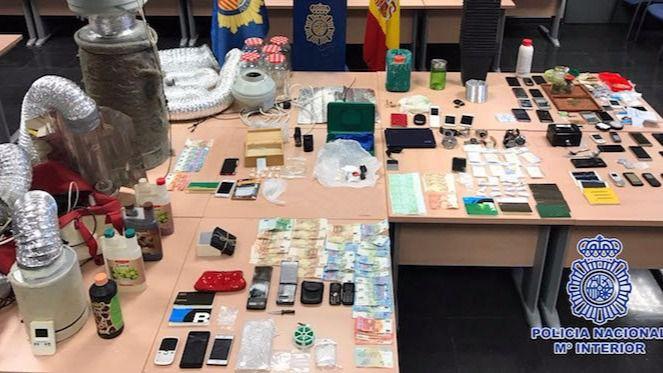Doce detenidos y desmantelados ocho puntos de venta de drogas en Aranjuez