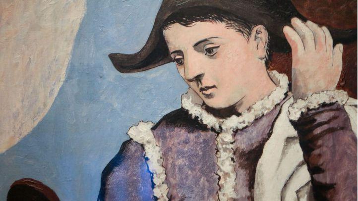 Un estudio del Thyssen revela los secretos del 'Arlequín en el espejo' de Picasso