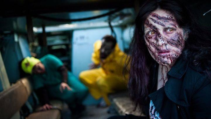 Otro evento de invasión zombie realizado en Getafe. (Archivo)