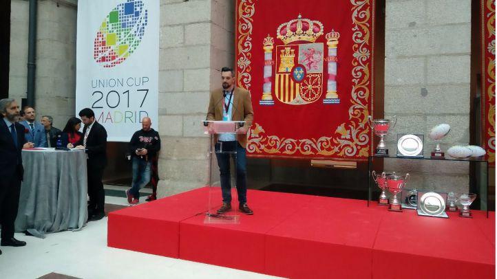 David Guerrero, presidente de Madrid Titanes