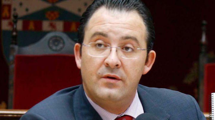Jesús Gómez, durante su mandato como alcalde de Leganés