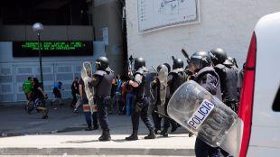 Madrid se blinda para el derbi europeo