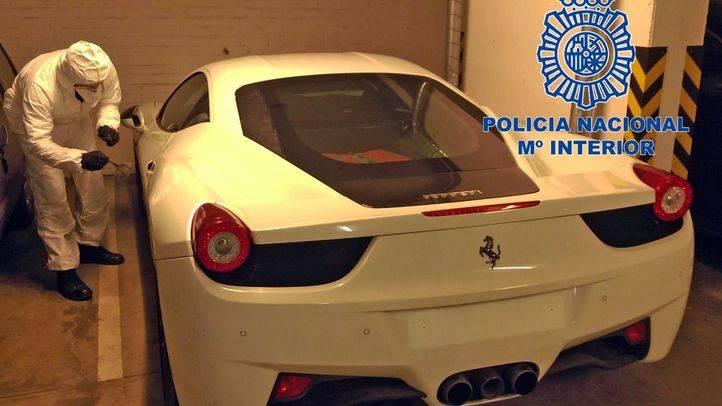 Uno de los coches de lujo sustraídos por el ahora arrestado en Hungría