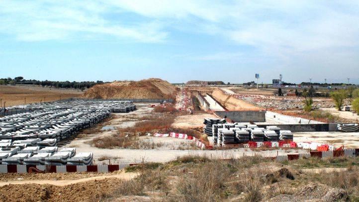 Obras del tren de Cercanías en Navalcarnero