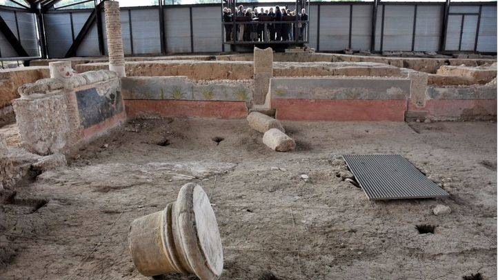 Casa de los Grifos de la ciudad romana de Complutum, en Alcalá de Henares.