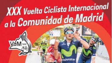 Cartel de la Vuelta Ciclista a la Comunidad de Madrid