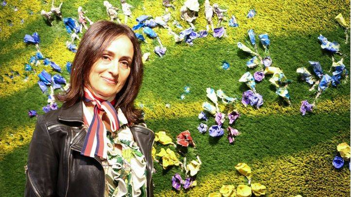 La artista Olga Andrino expone 'Almas viajeras' en el Espacio de las Artes de Castellana