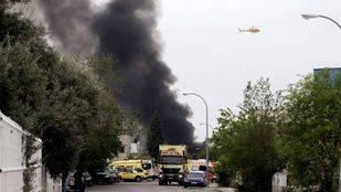 Cuatro heridos del incendio de Arganda permanecen ingresados y dos de ellos siguen graves