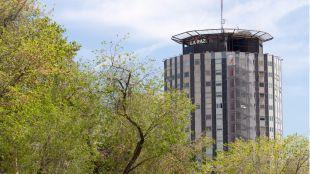 Hospital Universitario La Paz, en la zona en la que se han producido las violaciones