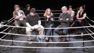 Autores en el ring