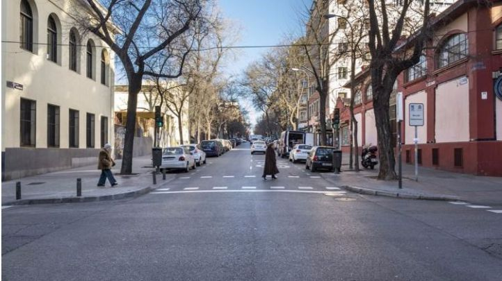 Las obras en la calle Vallehermoso no alterarán la circulación