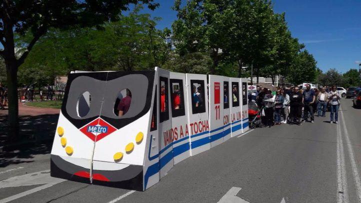 Carabanchel Alto reclama las obras de prolongación de la Línea 11, la 'M-40 del Metro'