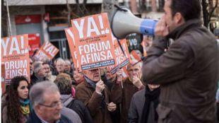 Los afectados de Forum Filatélico, a la espera aún de una