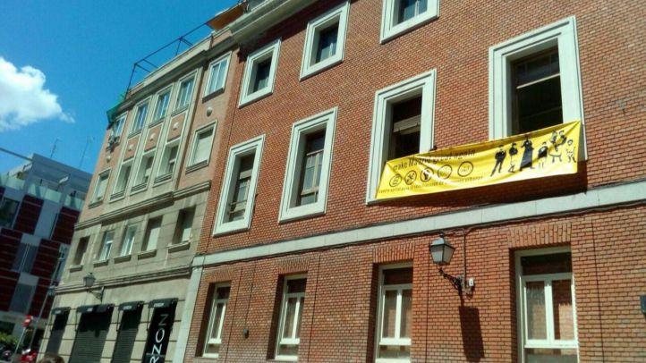 La protesta 'Madrid no se vende' acaba en okupación