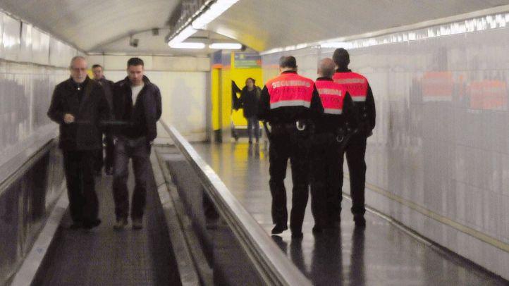 La seguridad del Metro, en huelga hasta el martes