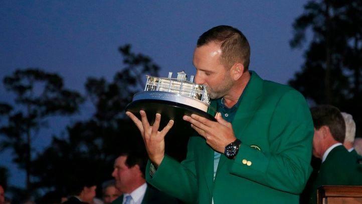 El Maestro Sergio García entra en la historia del golf mundial con su victoria en Augusta