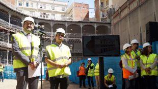El Beti-Jai recupera su fachada y graderío original