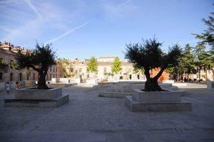 Plaza de España en San Fernando de Henares