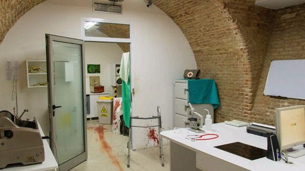 'Laboratorio Zombie', escape room de Fox in a Box
