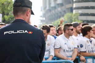 Casi 1.400 efectivos velarán por la seguridad del Atlético-Real Madrid