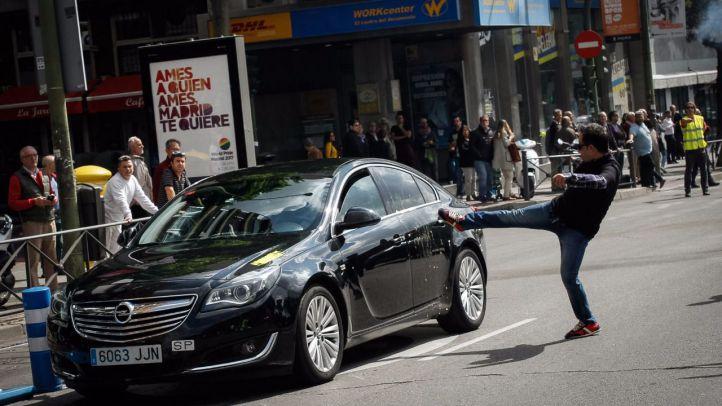 Denunciados más de 1.200 vehículos VTC en Madrid