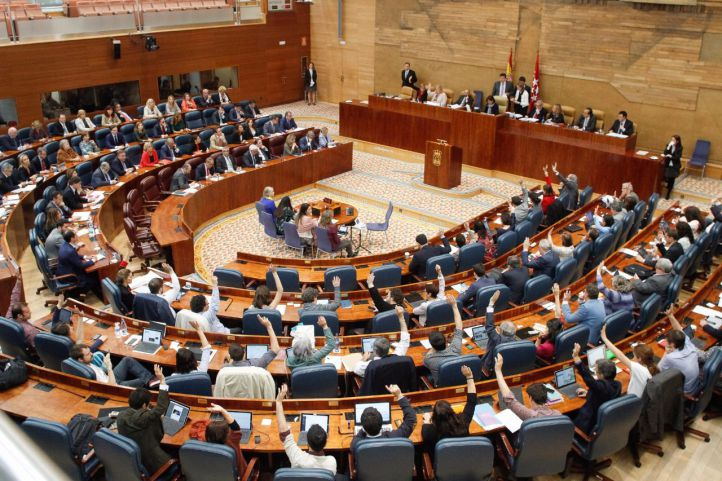 La Asamblea celebra un pleno monográfico sobre el Canal