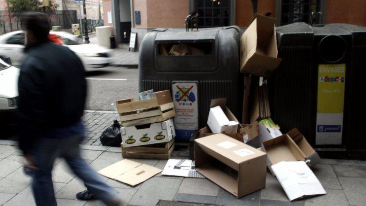 El Ayuntamiento 'suspende' en limpieza