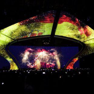El festival de Eurovisión, en directo