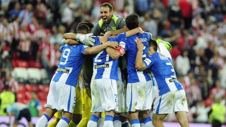 El Leganés sella la permanencia en Primera