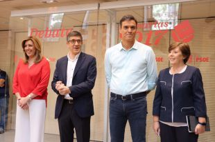 La inquina entre Susana Díaz y Pedro Sánchez asfixia el debate a tres del PSOE